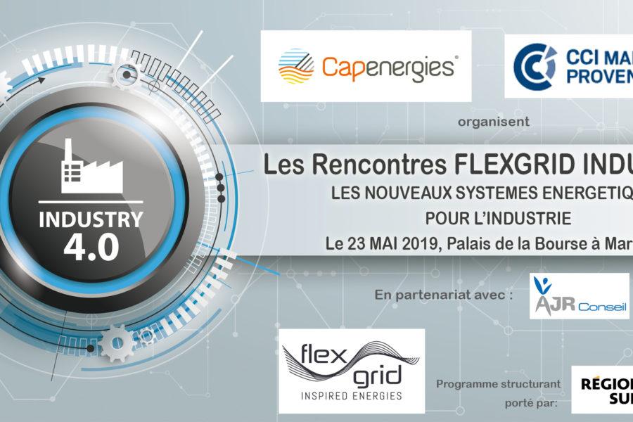 Prenez RDV avec les 20 industriels des Rencontres Flexgrid Industries, le 23 mai à Marseille