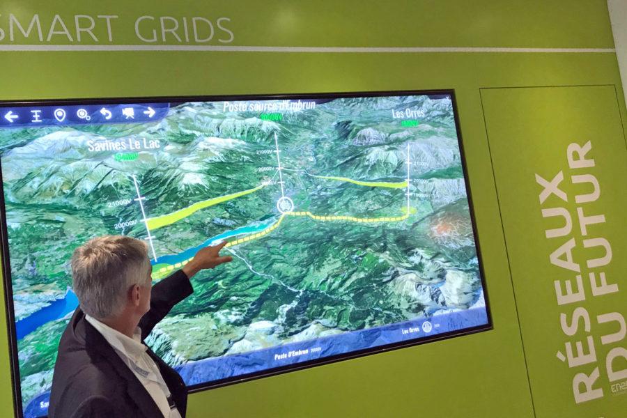 Découvrez le nouveau showroom ENEDIS 'Les réseaux du futurs' à Aix en Provence