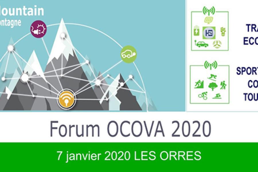 [Smart Mountain] Participez et exposez vos solutions lors du Forum OCOVA 2020, le 7 janvier aux Orres