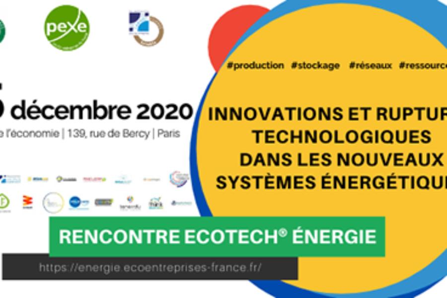 Pitchez lors de La Rencontre Ecotech Energie Nouveaux Systèmes Énergétiques, inscription jusqu'au 7 juillet !