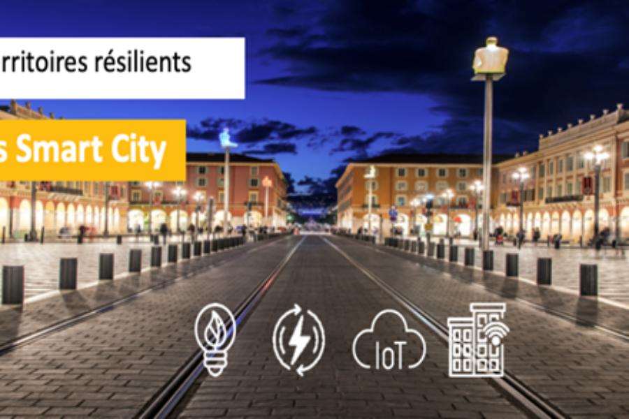 Parcours Smart City-Ville durable le 23 Juin 2020 : vers des territoires résilients en Région SUD