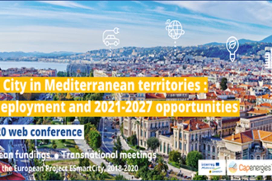 Accédez à l'évènement Smart City des villes euro-méditerranéennes, le 16 juillet 2020 – Conférences et BtoB Online